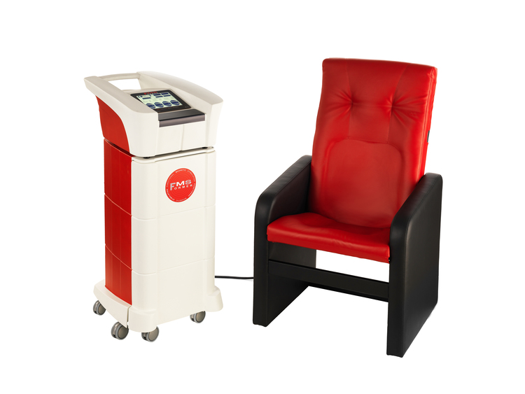 Areas and effects that can be treated with the Tesla chair